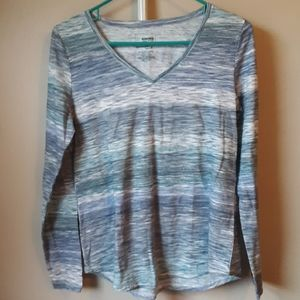 SONOMA STRIPED LONG DLEEVE EVERYDAY TEE S